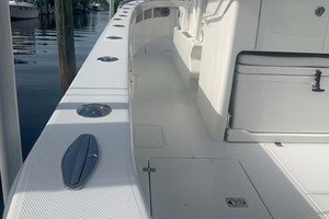 2020 32' SeaVee Port Gunnel