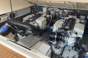 Kraken is a Albemarle 360 XF Yacht For Sale in Biloxi-2008 36 Albemarle 360XF Kraken Engine Room (2)-11