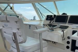 Kraken is a Albemarle 360 XF Yacht For Sale in Biloxi-2008 36 Albemarle 360XF Kraken Lower Helm (2)-8