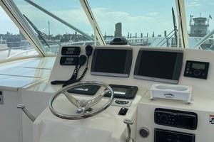 Kraken is a Albemarle 360 XF Yacht For Sale in Biloxi-2008 36 Albemarle 360XF Kraken Lower Helm (1)-2