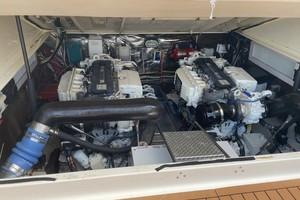 Kraken is a Albemarle 360 XF Yacht For Sale in Biloxi-2008 36 Albemarle 360XF Kraken Engine Room (3)-12