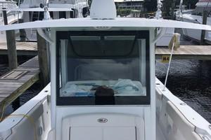 Sea Hunt 30 - windshield