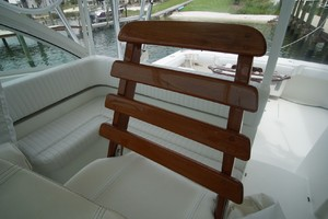 Dolphin IV is a Albemarle 360 Express Yacht For Sale in Orange Beach-Helm Chair-17
