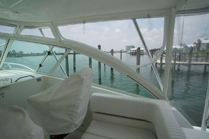 Dolphin IV is a Albemarle 360 Express Yacht For Sale in Orange Beach-New Enclosure & Chair Covers-19