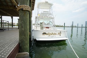 Dolphin IV is a Albemarle 360 Express Yacht For Sale in Orange Beach-Transom-32