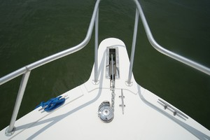 Dolphin IV is a Albemarle 360 Express Yacht For Sale in Orange Beach-Pulpit and Windlass-13