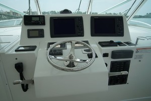 Dolphin IV is a Albemarle 360 Express Yacht For Sale in Orange Beach-Helm-16