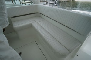 Dolphin IV is a Albemarle 360 Express Yacht For Sale in Orange Beach-Helm Deck Seating-18