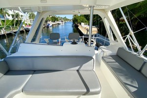 Ocean 48 - Bad Fish - Flybridge Seating