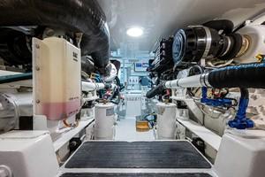 Viking 48 - Liberty - Engine Room