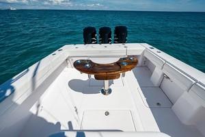 Venture 39-Black and Blue-Cockpit