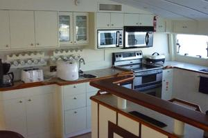 82' Advanced Marine Catamaran 2009 Galley