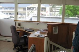 82' Advanced Marine Catamaran 2009 Helm Desk