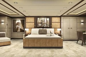 126' Inace Explorer 2021 Master Stateroom