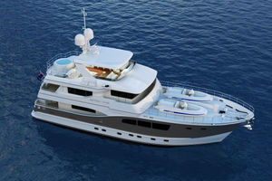 90' Custom Tri Deck Explorer Yacht 2020 Photo 12