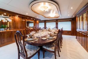 155' Christensen 2001/2018 155ft 2001 Dining Room