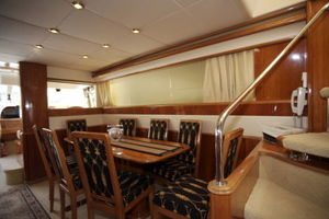 72' Viking Sport Cruiser 1999 Main Salon/Dining
