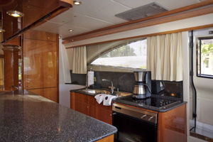 72' Viking Sport Cruiser 1999 Galley