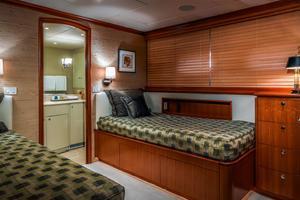 124' Delta Marine Tri-Deck MY 1998 Twin Guest Stateroom