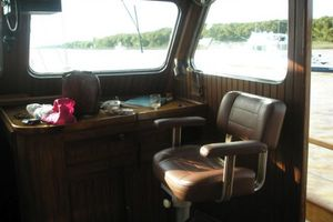 74' Ortholan Argentina Classic Motorsailer Ketch 1939 Wheelhouse To Starboard