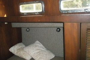 74' Ortholan Argentina Classic Motorsailer Ketch 1939 Typical Stateroom