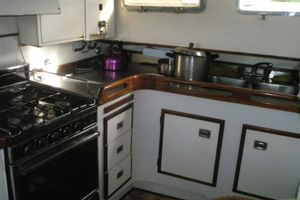 74' Ortholan Argentina Classic Motorsailer Ketch 1939 Galley