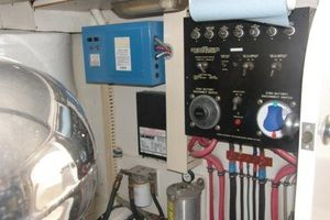 60' Bertram Enclosed Flybridge 1997 Engine Room Panel