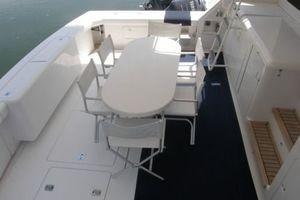 60' Bertram Enclosed Flybridge 1997 Cockpit