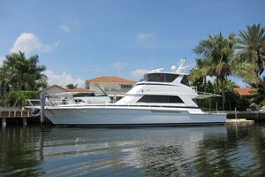 Bertram 60' Enclosed Flybridge 1997 OFF SEASON