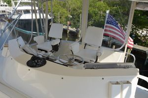 50' Bertram 50 Convertible 1990 Helm Aft
