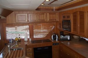 75' Marlow 75e 2018 Galley