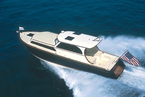 37' Marlow Prowler 375 Classic 2018 Overhead View