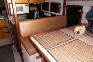 40' Bertram 40 1995 1995 Sportfish Dining Facing Forward