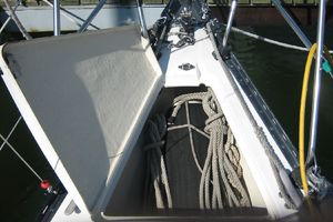37' C&C 37/40 Wing Keel (Model 37R) 1990 Anchor Well