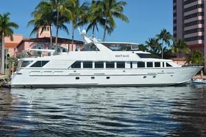 114' Hatteras Raised Pilothouse My 1996 114' Hatteras Motor Yacht  GOOD TIMES