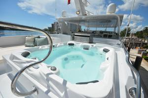 114' Hatteras Raised Pilothouse My 1996 Flybridge Jacuzzi