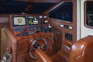 88' Cheoy Lee Bravo 88 2019 Pilothouse Helm