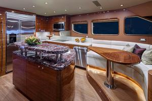 88' Cheoy Lee Bravo 88 2019 Galley