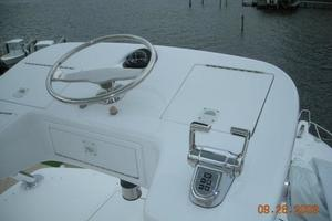 68' Hatteras 68gt 2009 Tower Custom Console with Storage