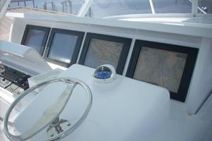 68' Hatteras 68GT 2009 Electronics Console