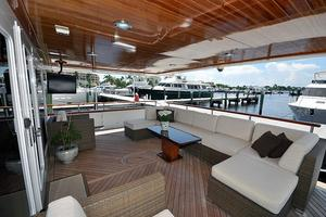 118' Broward Raised Pilothouse My 1995 Aft Deck