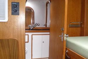 60' Auzepy Brenneur Sloop 2008 Auzepy Brenneur Sloop - Head Entry Port Side