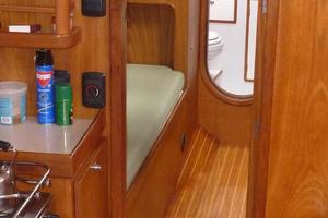 60' Auzepy Brenneur Sloop 2008 Auzepy Brenneur Sloop - Port Guest Cabin Entry