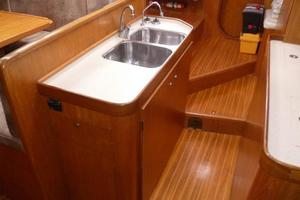 60' Auzepy Brenneur Sloop 2008 Auzepy Brenneur Sloop - Galley Island looking aft