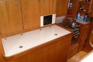 60' Auzepy Brenneur Sloop 2008 Auzepy Brenneur Sloop - New Galley Cabinets