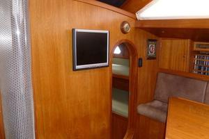 60' Auzepy Brenneur Sloop 2008 Auzepy Brenneur Sloop - Main Cabin Fwd of Settee