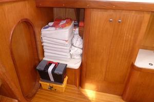 60' Auzepy Brenneur Sloop 2008 Auzepy Brenneur Sloop - Storage Stbd Aft of Galley