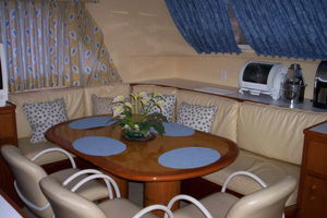 80' Broward Raised Pilothouse 1980 Country Kitchen