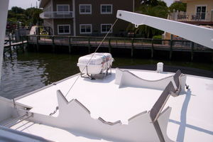 80' Broward Raised Pilothouse 1980 Crane, Chocks and New 8 Man Raft