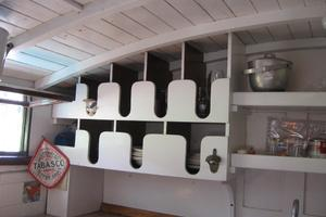 38' Matthews Single cabin 1930 More of the galley